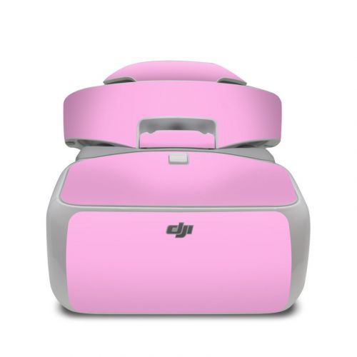 Solid State Pink DJI Goggles Skin