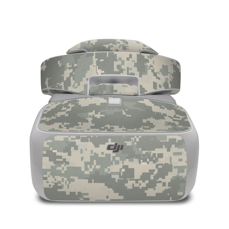 DJI Goggles Skin design of Military camouflage, Green, Pattern, Uniform, Camouflage, Design, Wallpaper with gray, green colors