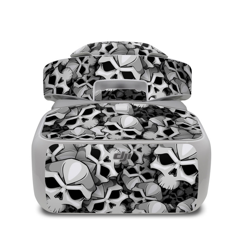 DJI Goggles Skin design of Pattern, Black-and-white, Monochrome, Ball, Football, Monochrome photography, Design, Font, Stock photography, Photography with gray, black colors