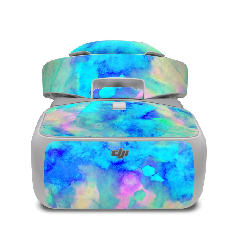 Electrify Ice Blue DJI Goggles Skin