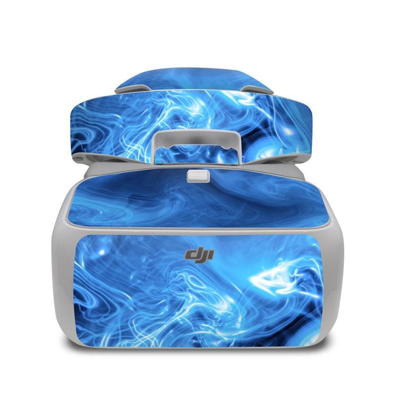 Blue Quantum Waves DJI Goggles Skin
