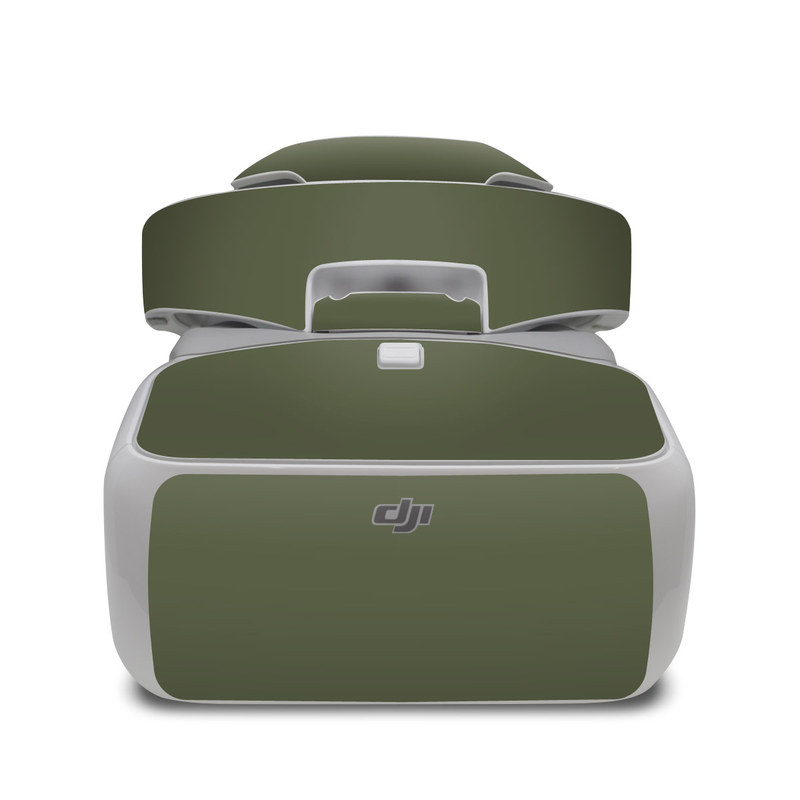 DJI Goggles Skin design of Green, Brown, Text, Yellow, Grass, Font, Pattern, Beige with green colors