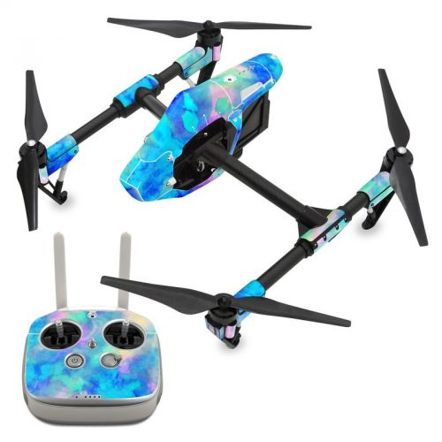 Electrify Ice Blue DJI Inspire 1 Skin