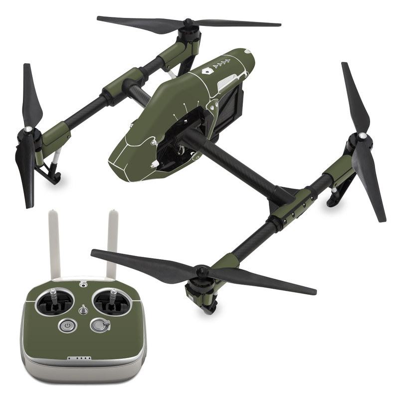 DJI Inspire 1 Skin design of Green, Brown, Text, Yellow, Grass, Font, Pattern, Beige with green colors
