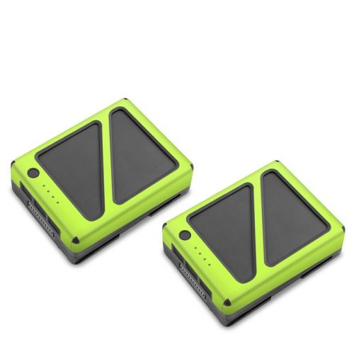 Solid State Lime DJI Inspire 2 Battery Skin