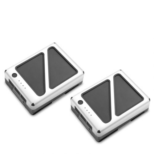 Solid State White DJI Inspire 2 Battery Skin