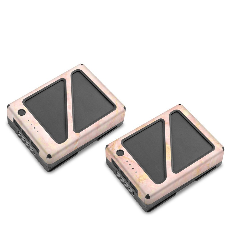Rose Gold Marble DJI Inspire 2 Battery Skin