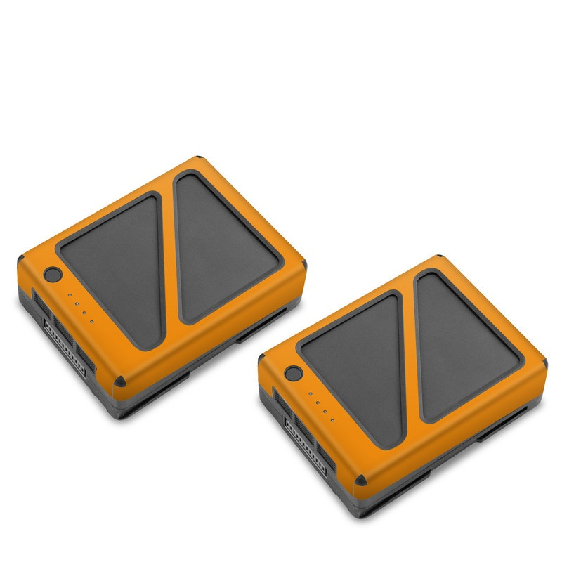 Solid State Orange DJI Inspire 2 Battery Skin