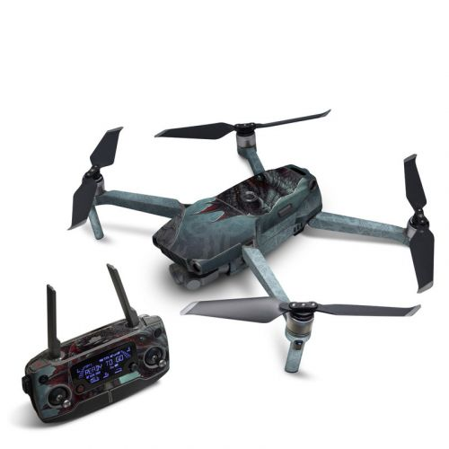 Black Dragon DJI Mavic 2 Skin