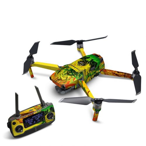 Hot Tribal Skull DJI Mavic 2 Skin