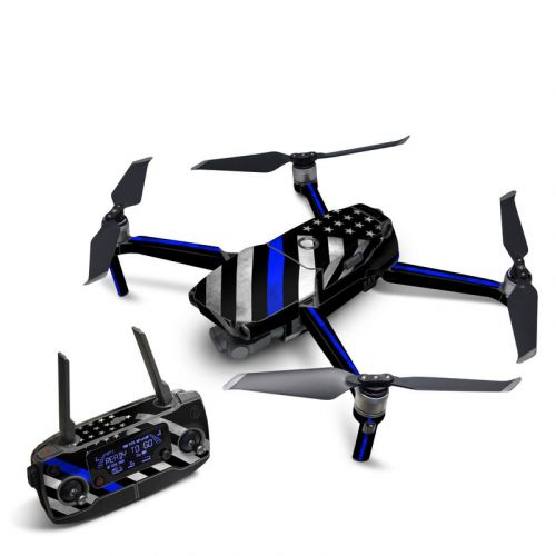 Thin Blue Line Hero DJI Mavic 2 Skin