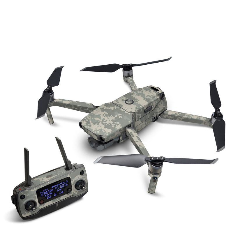 DJI Mavic 2 Skin design of Military camouflage, Green, Pattern, Uniform, Camouflage, Design, Wallpaper with gray, green colors