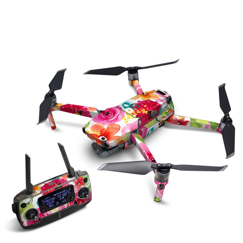 DJI Mavic 2 Skin design of Flower, Cut flowers, Floral design, Plant, Pink, Bouquet, Petal, Flower Arranging, Artificial flower, Clip art with pink, red, green, orange, yellow, blue, white colors