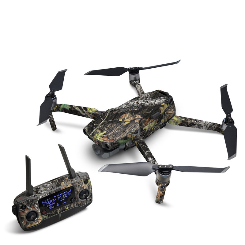 DJI Mavic 2 Skin design of Leaf, Tree, Plant, Adaptation, Camouflage, Branch, Wildlife, Trunk, Root with black, gray, green, red colors