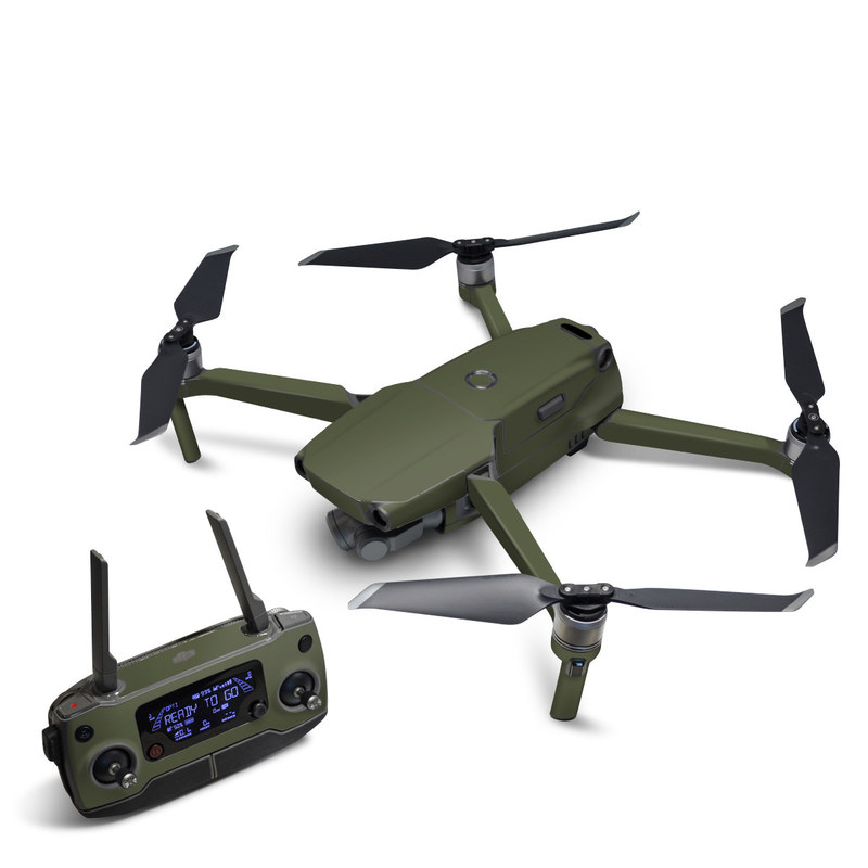 DJI Mavic 2 Skin design of Green, Brown, Text, Yellow, Grass, Font, Pattern, Beige with green colors