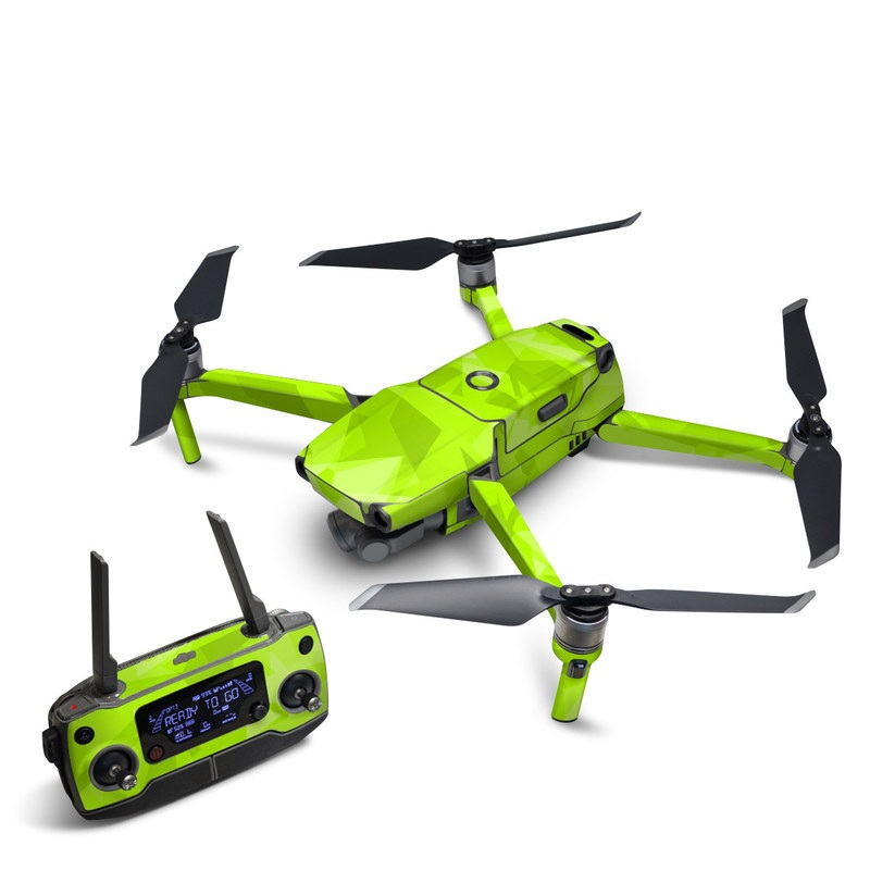 DJI Mavic 2 Skin design with green colors