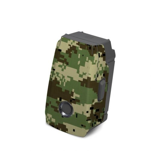 Digital Woodland Camo DJI Mavic 2 Battery Skin