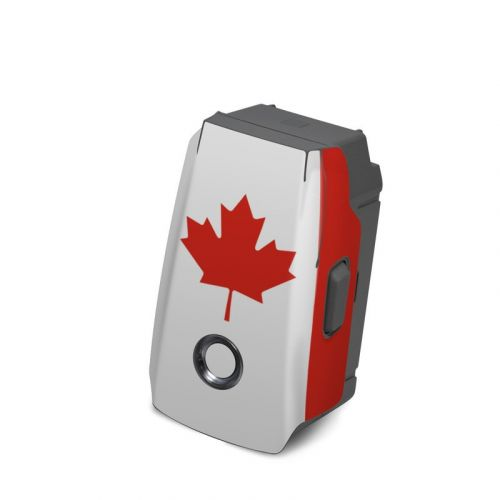 Canadian Flag DJI Mavic 2 Battery Skin