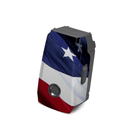 Patriotic DJI Mavic 2 Battery Skin