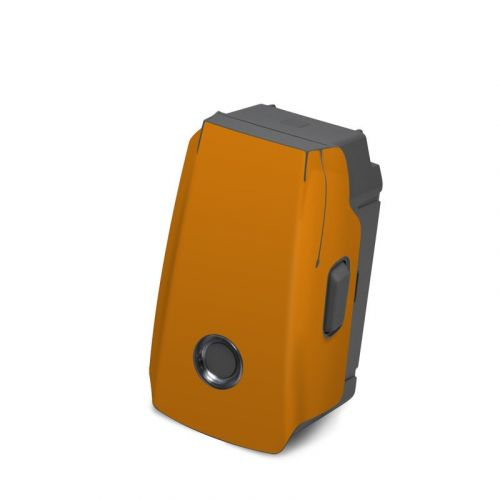 Solid State Orange DJI Mavic 2 Battery Skin