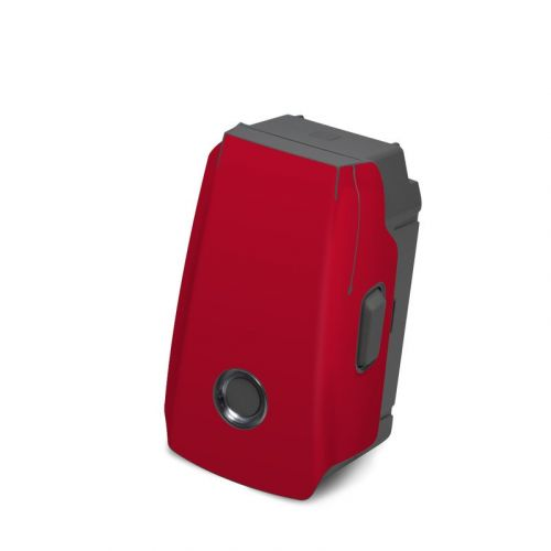 Solid State Red DJI Mavic 2 Battery Skin