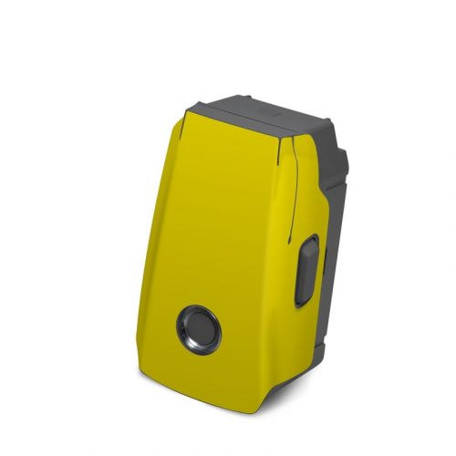 Solid State Yellow DJI Mavic 2 Battery Skin
