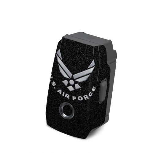 USAF Black DJI Mavic 2 Battery Skin