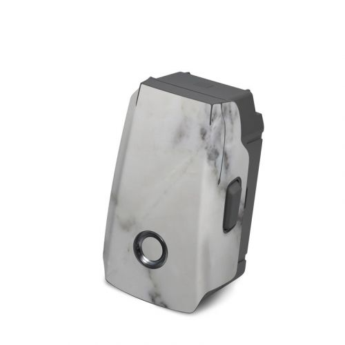 White Marble DJI Mavic 2 Battery Skin