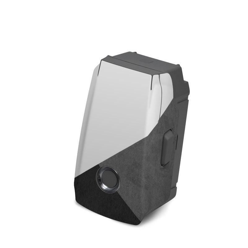 DJI Mavic 2 Battery Skin design of Black, White, Black-and-white, Line, Grey, Architecture, Monochrome, Triangle, Monochrome photography, Pattern with white, black, gray colors