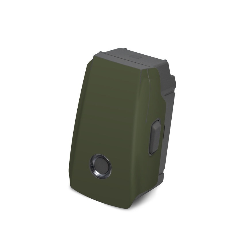 DJI Mavic 2 Battery Skin design of Green, Brown, Text, Yellow, Grass, Font, Pattern, Beige with green colors