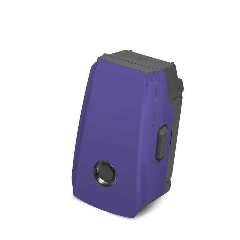 DJI Mavic 2 Battery Skin design of Blue, Violet, Sky, Purple, Daytime, Black, Lilac, Cobalt blue, Pink, Azure with purple colors