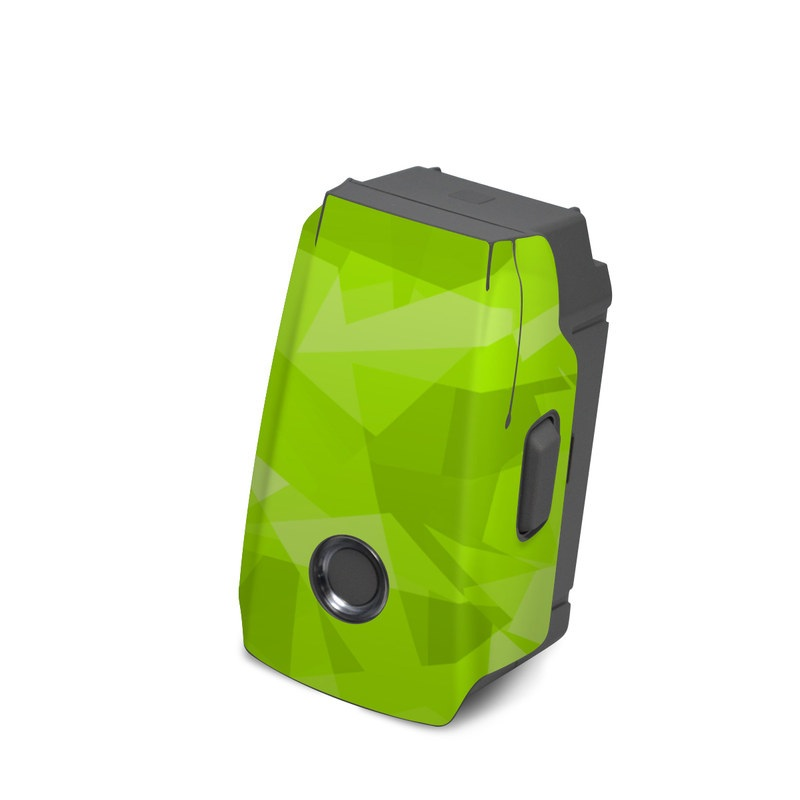 DJI Mavic 2 Battery Skin design with green colors
