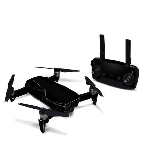 Solid State Black DJI Mavic Air Skin