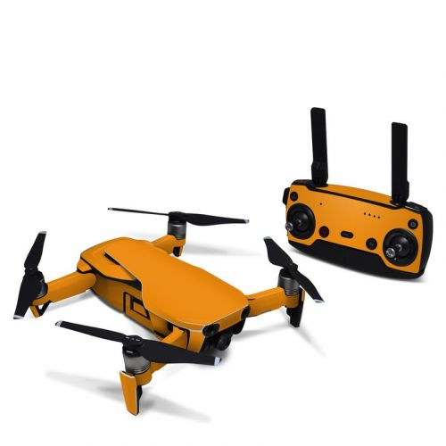 Solid State Orange DJI Mavic Air Skin