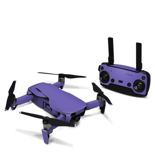 Solid State Purple DJI Mavic Air Skin