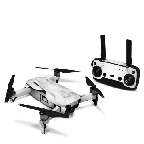 White Marble DJI Mavic Air Skin