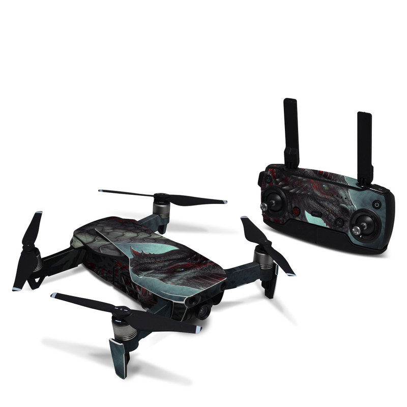 Black Dragon DJI Mavic Air Skin