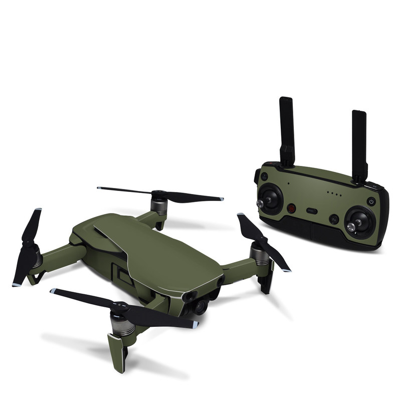 DJI Mavic Air Skin design of Green, Brown, Text, Yellow, Grass, Font, Pattern, Beige with green colors