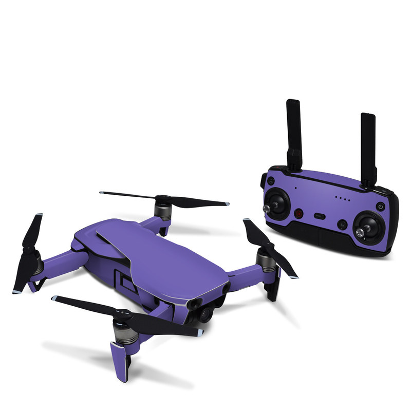 DJI Mavic Air Skin design of Blue, Violet, Sky, Purple, Daytime, Black, Lilac, Cobalt blue, Pink, Azure with purple colors