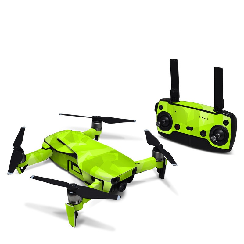 DJI Mavic Air Skin design with green colors