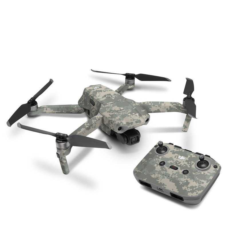 DJI Mavic Air 2 Skin design of Military camouflage, Green, Pattern, Uniform, Camouflage, Design, Wallpaper with gray, green colors