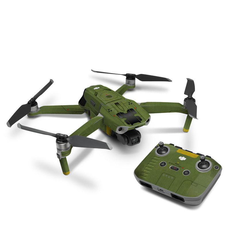DJI Mavic Air 2 Skin design with green, black, yellow, red colors