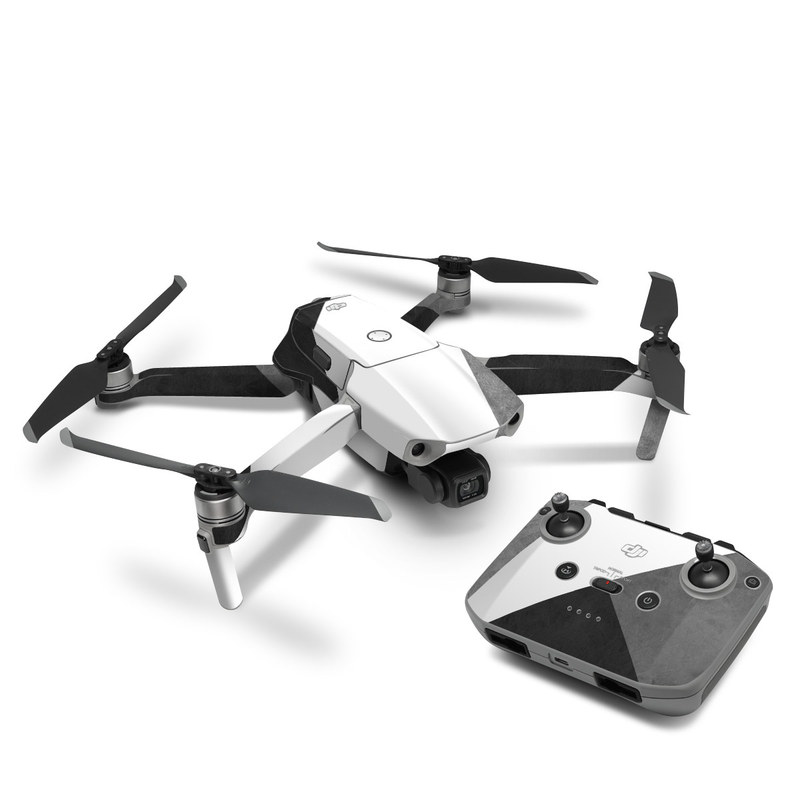 DJI Mavic Air 2 Skin design of Black, White, Black-and-white, Line, Grey, Architecture, Monochrome, Triangle, Monochrome photography, Pattern with white, black, gray colors