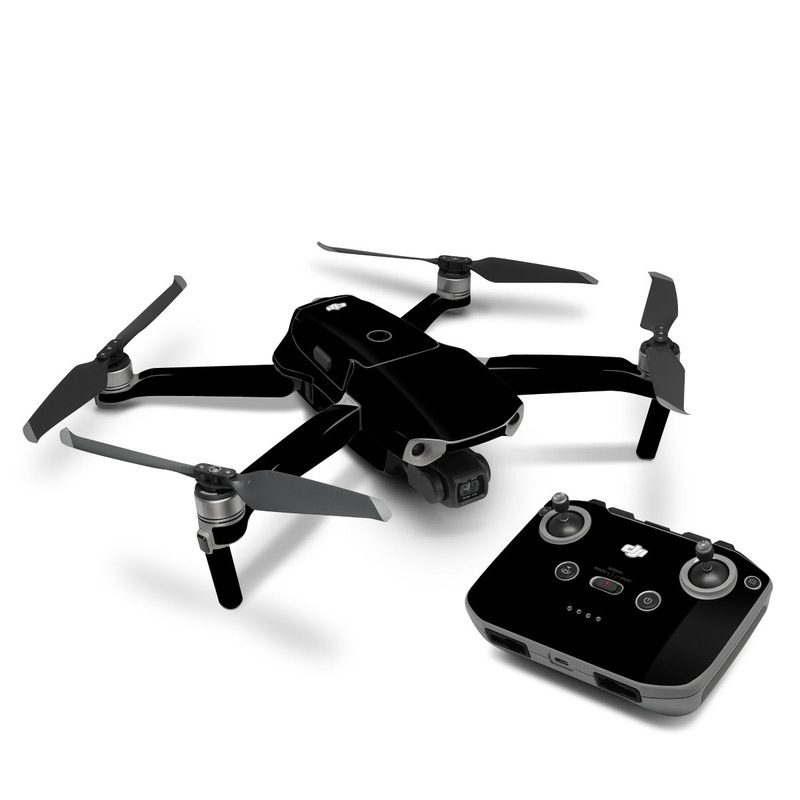 DJI Mavic Air 2 Skin design of Black, Darkness, White, Sky, Light, Red, Text, Brown, Font, Atmosphere with black colors