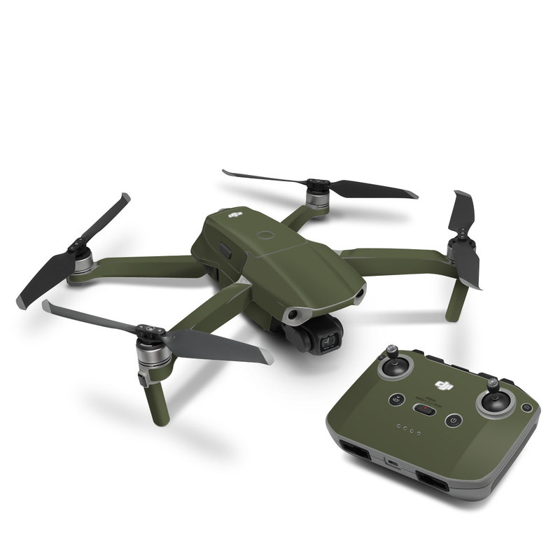 DJI Mavic Air 2 Skin design of Green, Brown, Text, Yellow, Grass, Font, Pattern, Beige with green colors