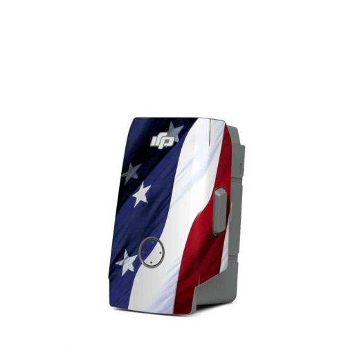 Patriotic DJI Mavic Air 2 Battery Skin