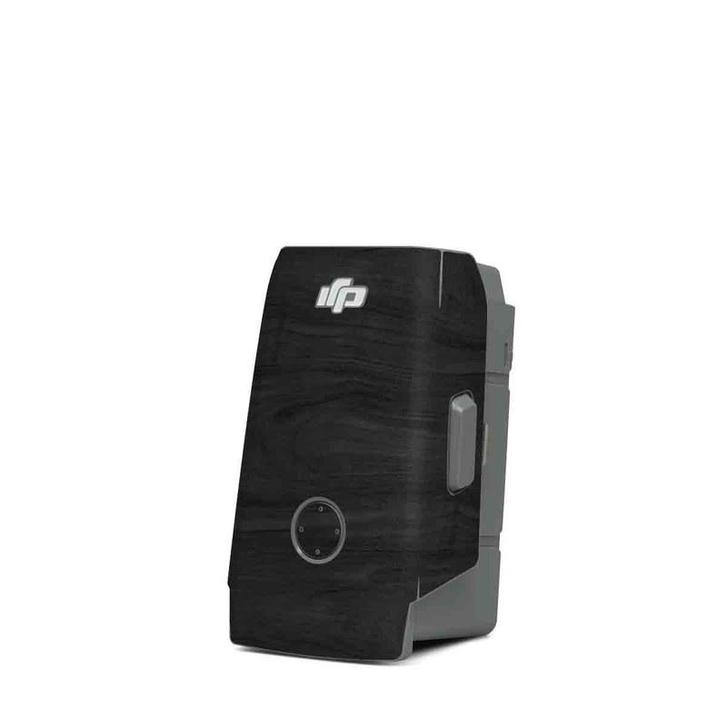 DJI Mavic Air 2 Battery Skin design of Black, Brown, Wood, Grey, Flooring, Floor, Laminate flooring, Wood flooring with black colors