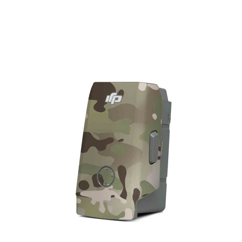 DJI Mavic Air 2 Battery Skin design of Military camouflage, Camouflage, Pattern, Clothing, Uniform, Design, Military uniform, Bed sheet with gray, green, black, red colors