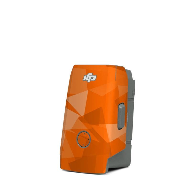 DJI Mavic Air 2 Battery Skin design with orange colors