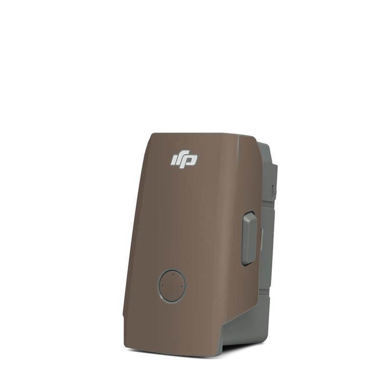 DJI Mavic Air 2 Battery Skin design of Brown, Text, Beige, Material property, Font with brown colors